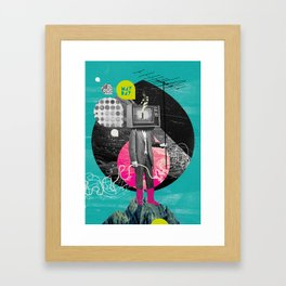 Mayday! Framed Art Print