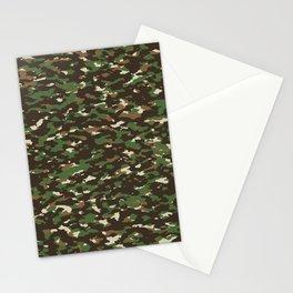Camouflage: Woodland II Stationery Cards