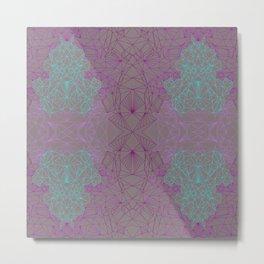 Skibby Violet Metal Print