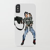 ripley iPhone & iPod Cases featuring Ellen Ripley from Alien by A Deniz Akerman