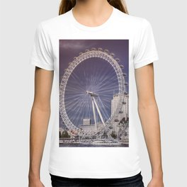 London Eye and the South Bank T-shirt
