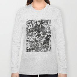 Suminagashi Series (Jing) 精 Long Sleeve T-shirt