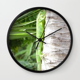 Just Hangin Out Wall Clock