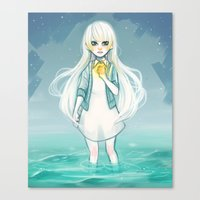 cyarin Canvas Prints featuring Safe Haven by Cyarin