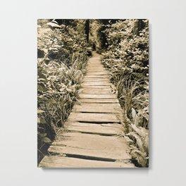 Endless Path Metal Print