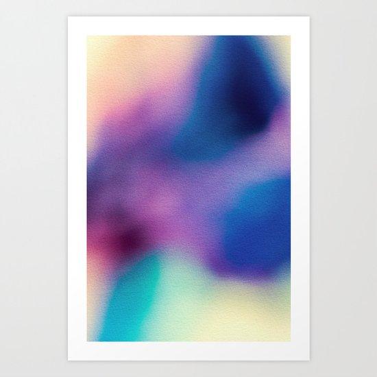 BLUR / ghosts Art Print