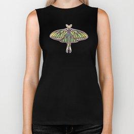 Spanish Moon Moth (Graellsia isabellae) Biker Tank