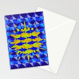Blue Shark Sun Stationery Cards