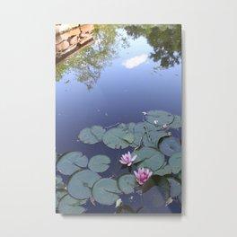 Lily Pad Day Metal Print