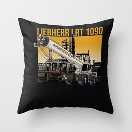 Liebherr LRT 1090 Throw Pillow