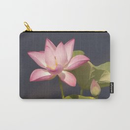 Pink Lotus by Teresa Thompson Carry-All Pouch