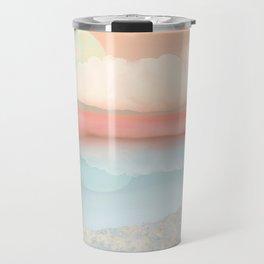Mint Moon Beach Travel Mug