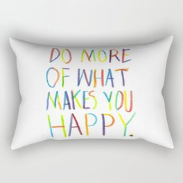 Positive Quote Rectangular Pillow