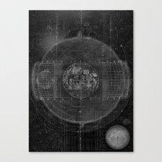 Tabula Selenographica Canvas Print