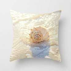 The Whelk I Throw Pillow