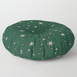 Slytherin Chapter Stars Floor Pillow