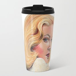 Blonde beauty Travel Mug