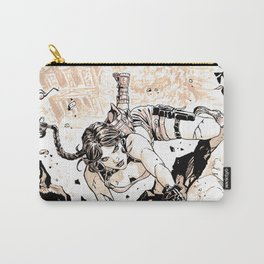 Tomb raider fan art comics style Carry-All Pouch