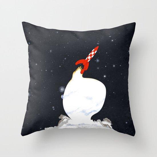 Destination Moon Throw Pillow