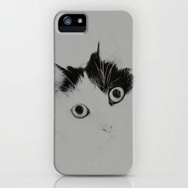 Black & Meow iPhone Case