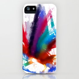Dancing Peacock  iPhone Case