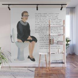 Ruth Bader Ginsburg Wall Mural