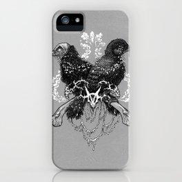 Hells pigeons iPhone Case