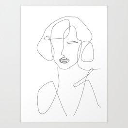 Feminine Touch Art Print