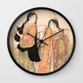 Dance of the Beach Maidens Wall Clock