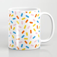 Livin' It - abstract pattern minimal modern primary colors pantone gender neutral retro throwback Mug
