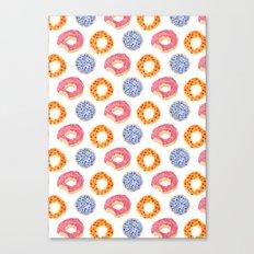 sweet things: doughnuts Canvas Print