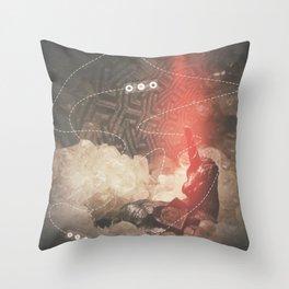 Unicorn Crystallization Throw Pillow