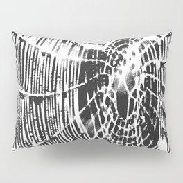 Intricate Halloween Spider Web White Palette Pillow Sham