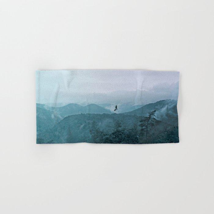 Blue smoky mountains Hand & Bath Towel