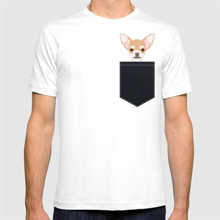 Misha - Chihuahua art print phone case gift for dog owner and dog people T-shirt