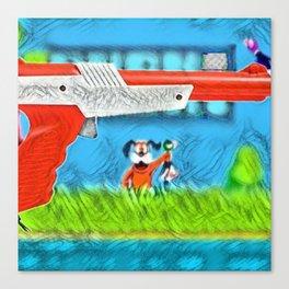 Duck Hunt Canvas Print