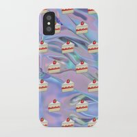 holographic iPhone & iPod Cases featuring Shortcake Emoji Holographic by Andy Paik