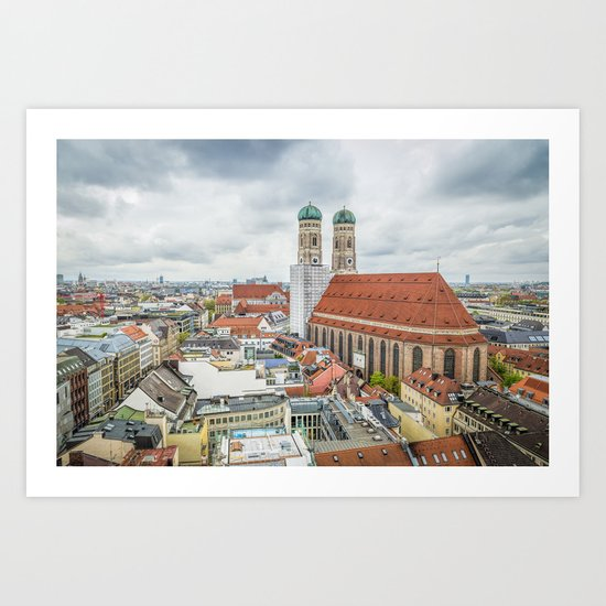 The Cathedral of Munich Art Print
