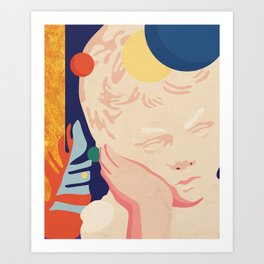 Greek obsession-new generation No.2. Art Print