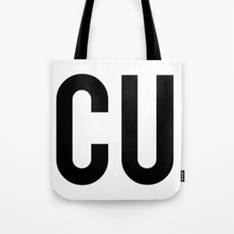 INSECURITY (on dark apparel) Tote Bag