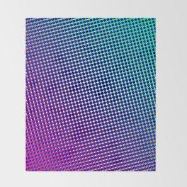 80's grade purple Throw Blanket