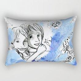 Glorious summer days Rectangular Pillow
