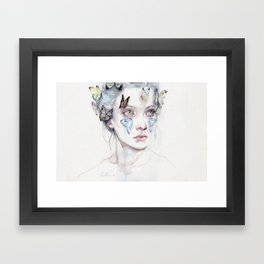 love and sacrifice Framed Art Print