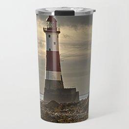 Beachy Head Lighthouse Travel Mug