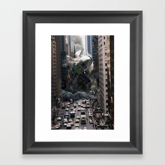 Last Flight Home  Framed Art Print