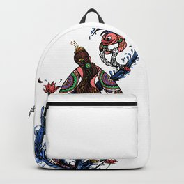 Mermaid love Backpack