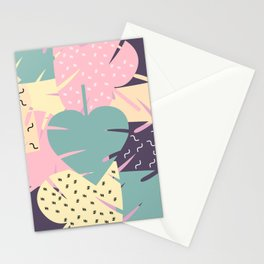 Soft leaves Stationery Cards