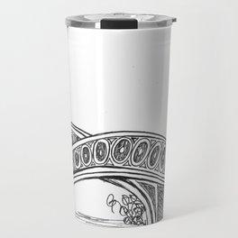 Central Park Drawing Travel Mug