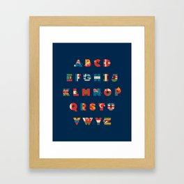 The Alflaget 3 Framed Art Print