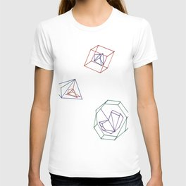 The symmetry of rationality T-shirt